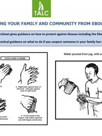 Protecting your Family and Community from Ebola