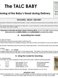Health books Baby delivery