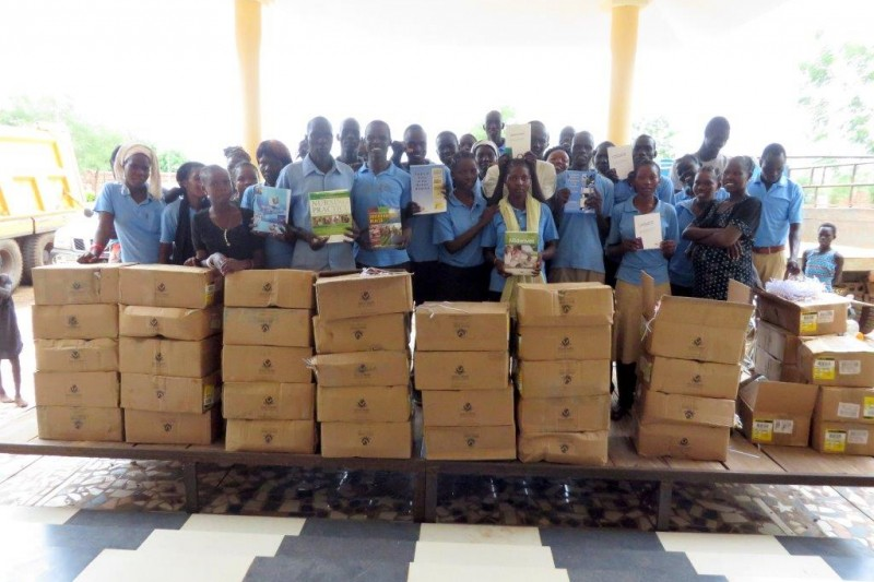 Nursing and midwifery books arrive in South Sudan