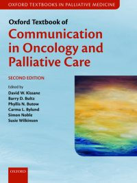 Oncology and Palliative Care
